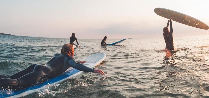 Surfers i varberg